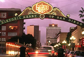 Gaslamp District, Night Scene